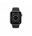 Pulkstenis Apple Watch Series 6 44mm GPS Space Gray Aluminium with Black Sport Band