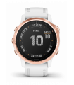 Pulkstenis Garmin Fenix 6S Pro Rose Gold with White Band