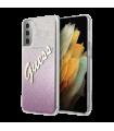 Vāciņš Samsung Galaxy S21 Guess Vintage Gradient Pink GUHCS21SPCUGLSPI