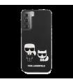 Vāciņš Samsung Galaxy S21 Karl Lagerfeld Karl &Choupette KLHCS21SPCUSKCBK